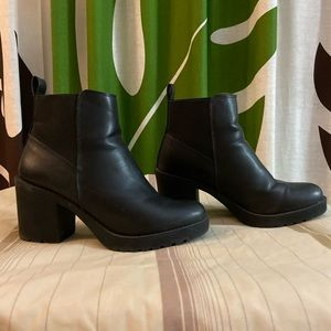 H&M Heeled Ankle Booties